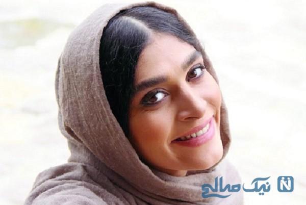 عجیب ترین شعر خوانی اندیشه فولادوند بازیگر ایرانی : ب ب ب بلی