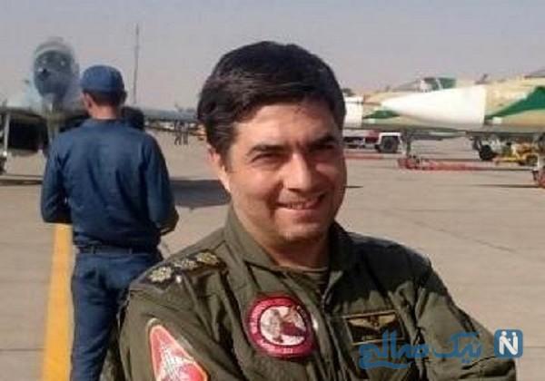 فرزند زیبای خلبان شهید رضا رحمانی در آغوش نماینده ولی فقیه