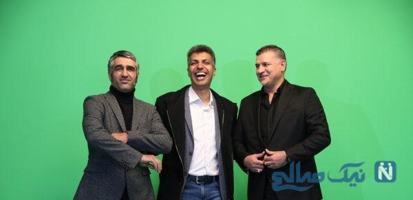 طنز انتقادی ژوله در برنامه عادل   تند و تیز درباره گزارشگران