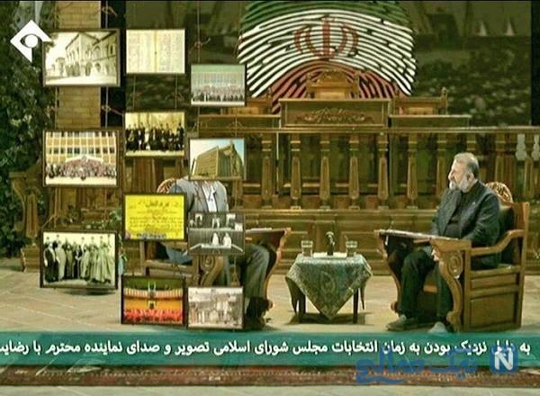 نماینده مجلس در تلویزیون