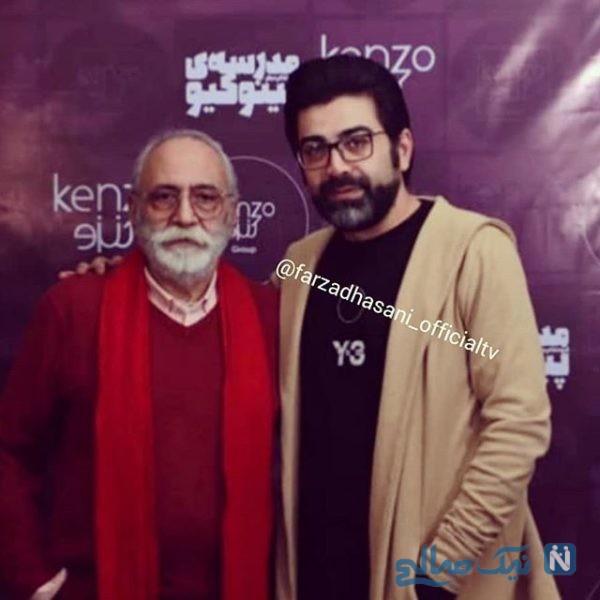 ظاهر جدید فرزاد حسنی