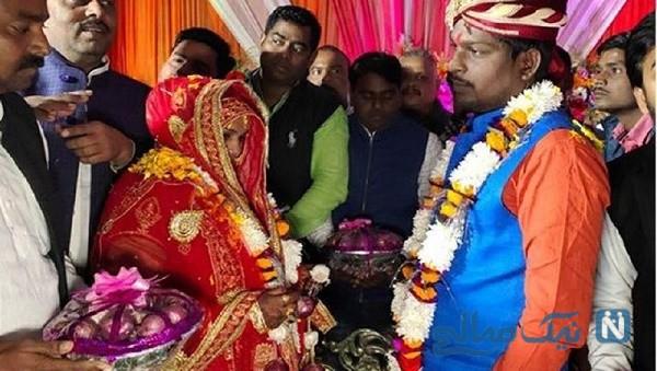 عروس و داماد هندی