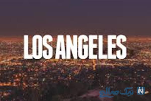 شهر لس آنجلس و تصاویر لو رفته از از زیرِ یک پل در این شهر