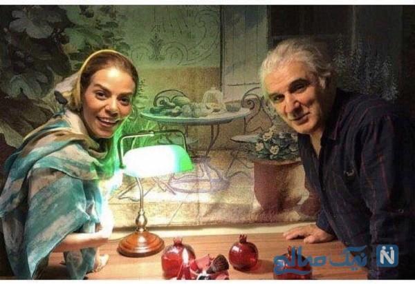 جدیدترین عکس مهدی هاشمی و همسر دومش مهنوش صادقی