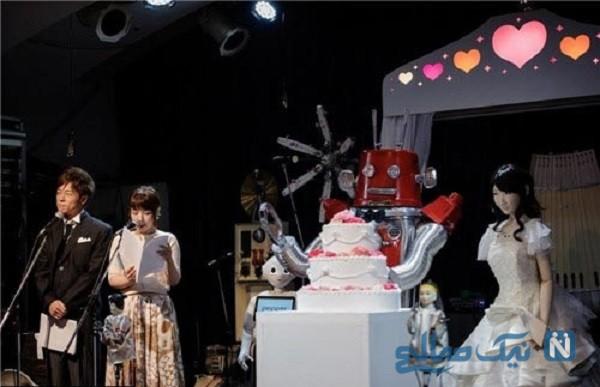 جنجال ازدواج دو ربات در ژاپن
