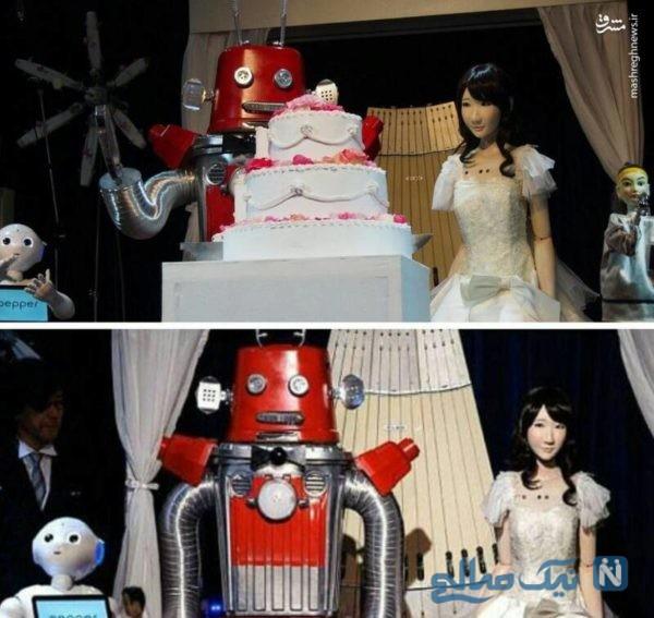 ازدواج دو ربات
