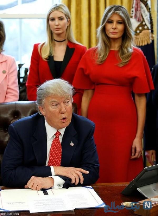 زندگی آقا و خانم ترامپ