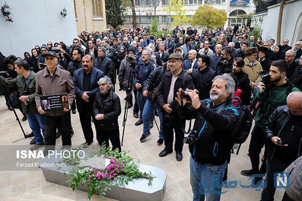 تشییع پیکر نصرت کریمی