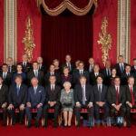 مهمانی ملکه انگلیس برای هفتاد سالگی پیمان ناتو
