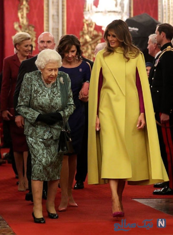 مهمانی ملکه انگلیس