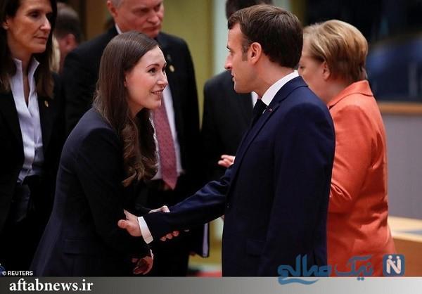 مکرون رئیس جمهور فرانسه