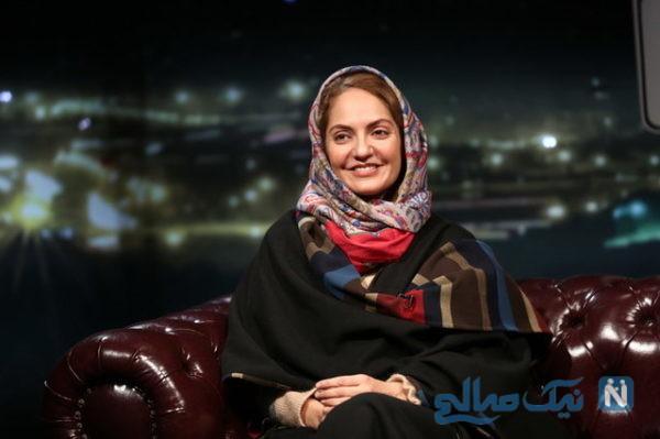 برگشت مهناز افشار به ایران