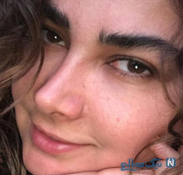 چهره بدون آرایش آناهیتا نعمتی