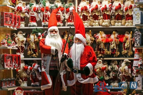 حال و هوای زیبای جشن بزرگ کریسمس در اصفهان
