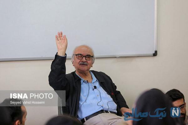 سه شنبه های دوست داشتنی با شفیعی کدکنی در دانشگاه تهران