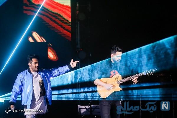 کنسرت محمدرضا گلزار در برج میلاد