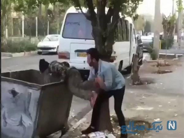 اولین تصاویر و صحبت های کودکی که به سطل زباله پرت شد