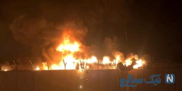 آتش زدن کنسولگری ایران در نجف اشرف برای بار دوم