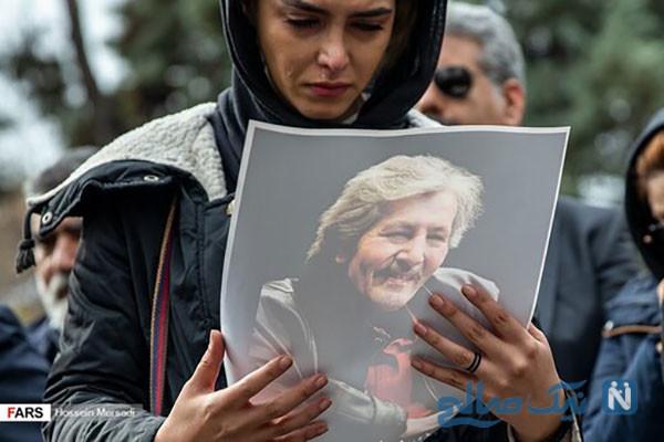 مراسم تشییع پیکر تورج شعبانخانی با حضور چهره های سرشناس