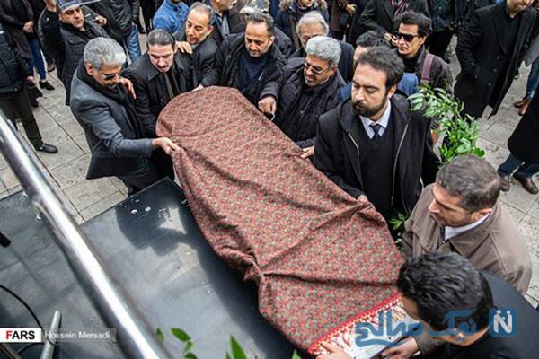 مراسم تشییع پیکر تورج شعبانخانی