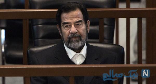 تصویر دیده نشده از لحظه دستگیری صدام