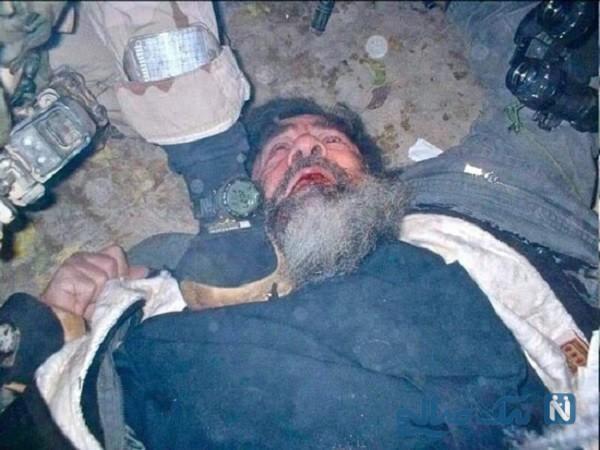 لحظه دستگیری صدام