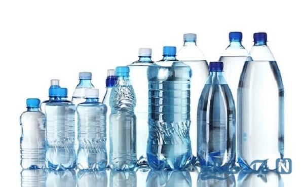 بطری های آب معدنی