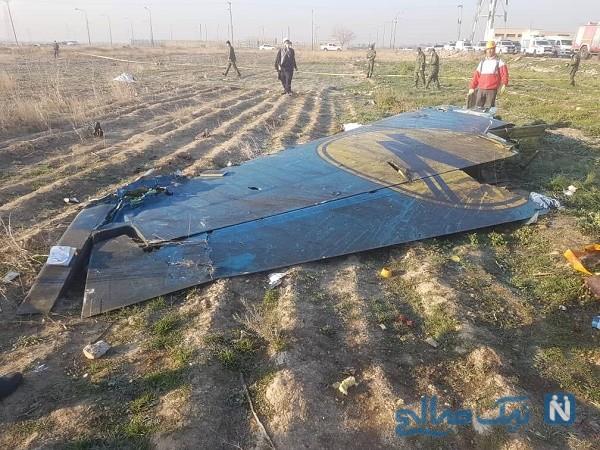دلیل سقوط هواپیمای اوکراین