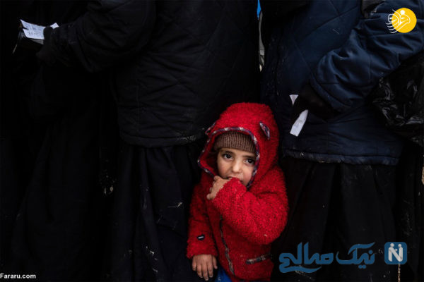 یک بچه یتیم داعشی