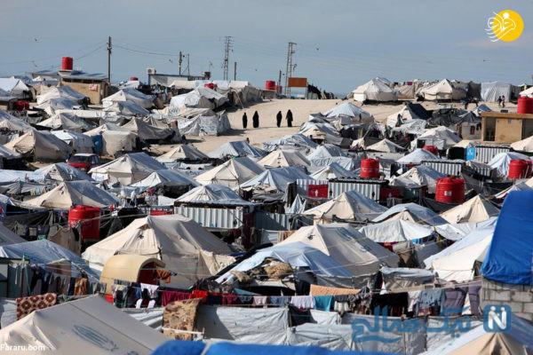 کمپ آوارگان داعش