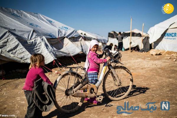 بچه های داعشی در حال بازی