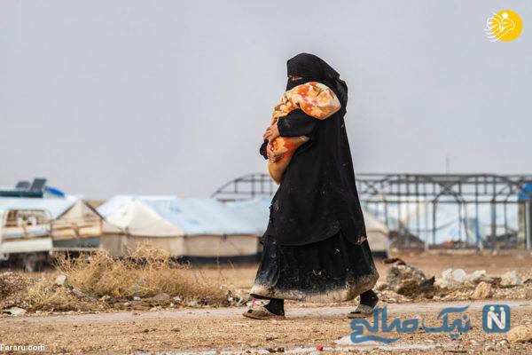 مادر داعشی