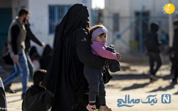 اردوگاه الهول سوریه