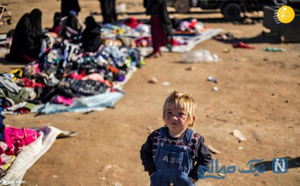 زنان و فرزندان داعشی