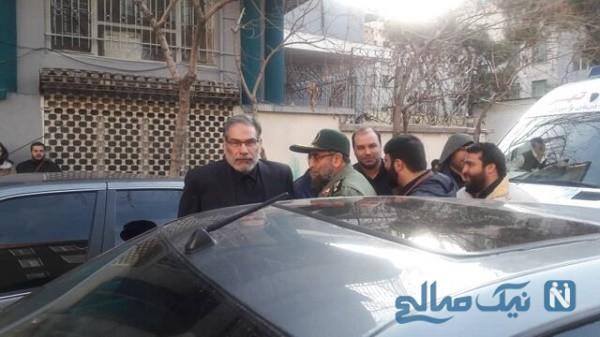 تشییع پیکر شهید سلیمانی