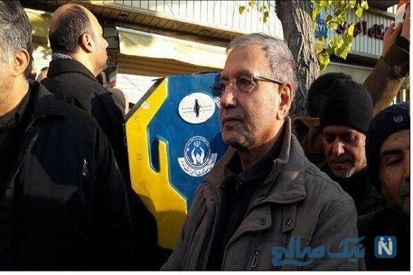مراسم تشییع پیکر شهید سلیمانی با حضور چهره های سیاسی