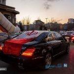 رژه خودروهای لاکچری برای سردار شهید حاج قاسم سلیمانی