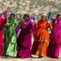 جشنواره رنگ ها در عروسی های زیبای بختیاری