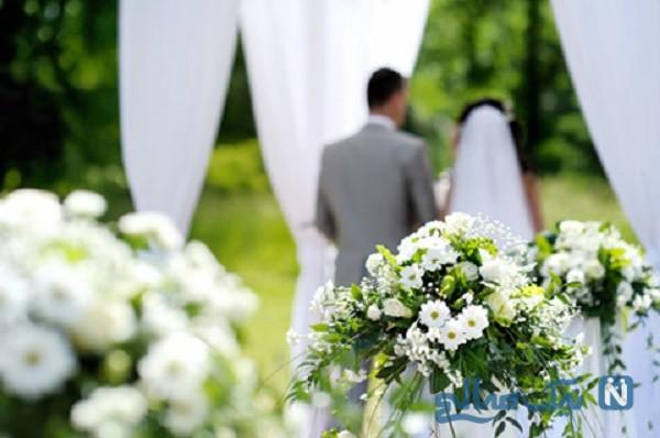 جشن عروسی یک زوج منفاوت زیر فوران آتشفشان!