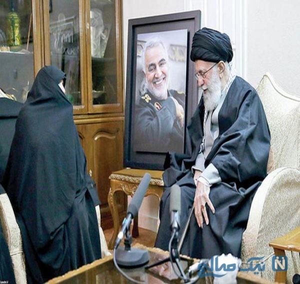 خانه سردار سلیمانی در تهران