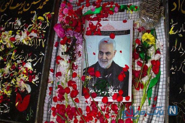 خاکسپاری حاج قاسم | پیکر شهید سردار سلیمانی در خانه ابدی آرامش گرفت