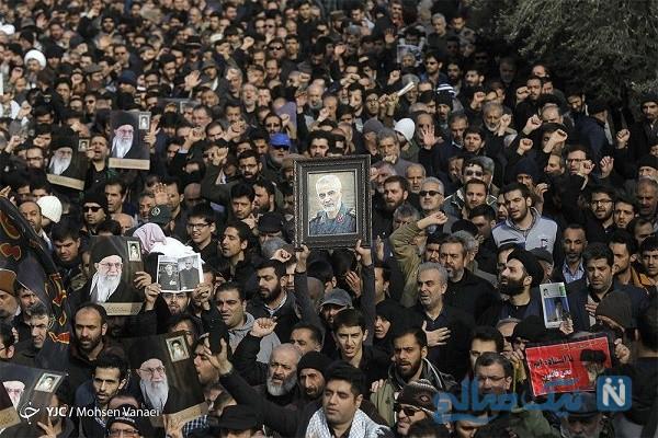 راهپیمایی نمازگزاران تهران