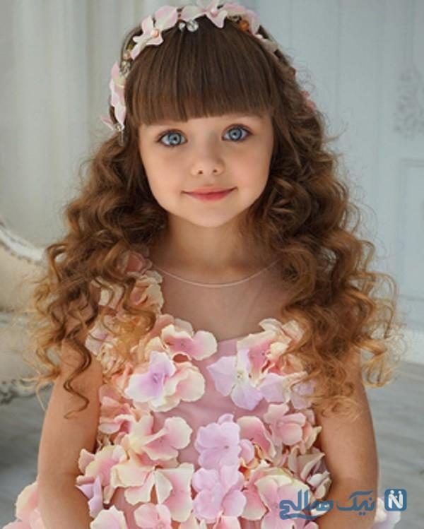 زیباترین دختربچه جهان
