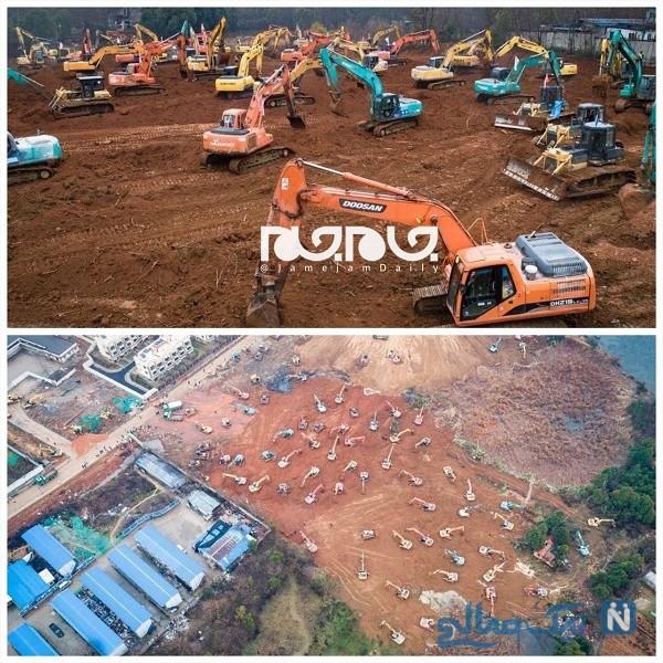 ساخت بیمارستان در چین