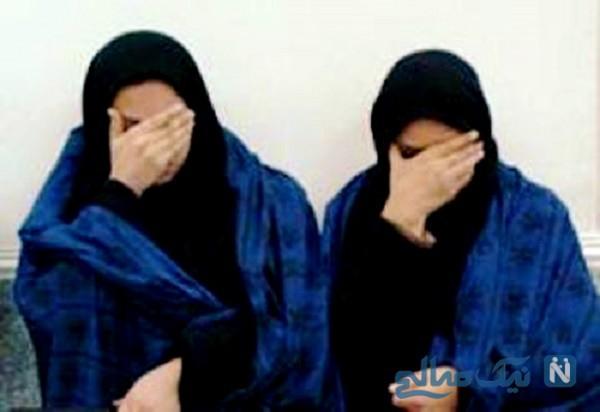 سرقت از خودرو کار این دو دختر با لباس پسرانه
