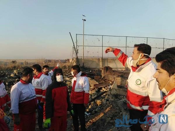 جزئیات سقوط هواپیمای مسافربری اوکراین در شهریار تهران