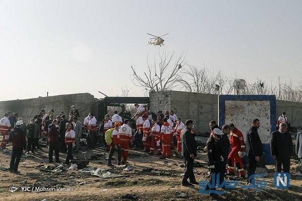 سقوط هواپیمای مسافربری
