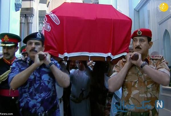 مراسم تشییع سلطان قابوس پادشاه عمان