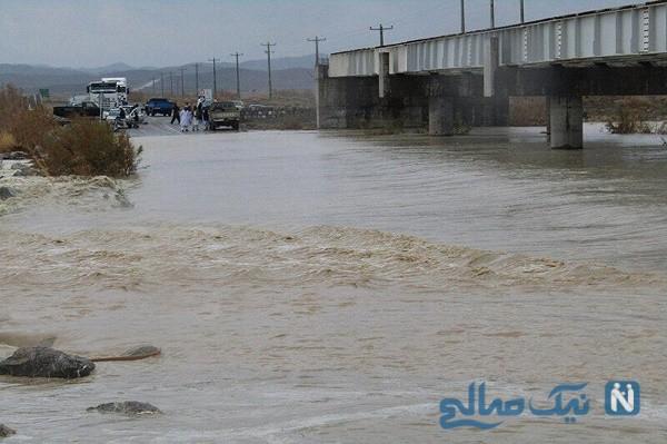 تصاویر غم انگیز از آب گرفتگی و سیل در سیستان بلوچستان