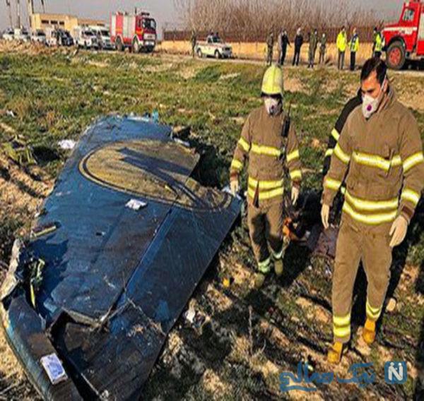 علت سقوط هواپیمای مسافربری